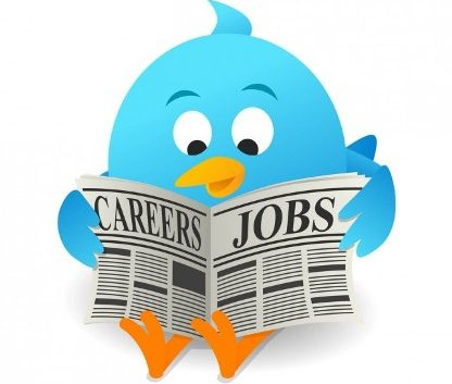 job search on Twitter