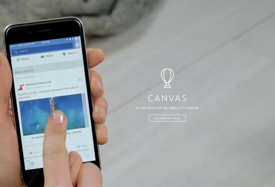 Facebook Canvas: New interactive format that you should know