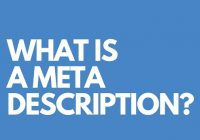 Meta description: What it is and enhancing SEO