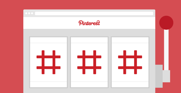 hashtags in pinterest